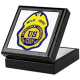 DEA Special Agent Keepsake Box