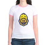 DEA Special Agent Jr. Ringer T-Shirt