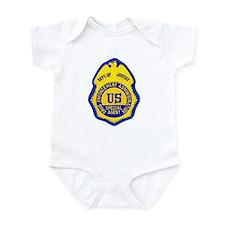 DEA Special Agent Infant Bodysuit
