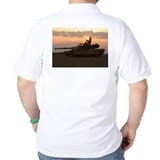 USMC M1A1 Tank in Iraq T-Shirt