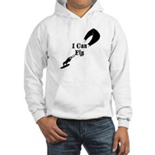 Kite Boarding I Can Fly Hoodie