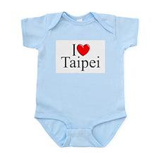 """I Love Taipei"" Infant Bodysuit"