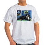 BERNESE MOUNTAIN DOG Art! Ash Grey T-Shirt
