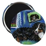 BERNESE MOUNTAIN DOG Art! Magnet