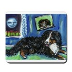 BERNESE MOUNTAIN DOG Art! Mousepad
