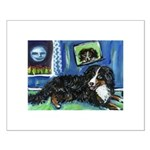 BERNESE MOUNTAIN DOG Art! Small Poster
