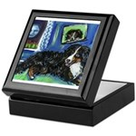 BERNESE MOUNTAIN DOG Art! Keepsake Box