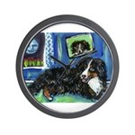 BERNESE MOUNTAIN DOG Art! Wall Clock