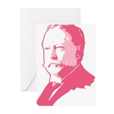Pink President Taft Greeting Cards (Pk of 20)