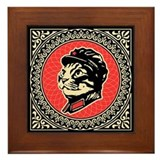 Leader Chairman Meow - Cat Framed Tile