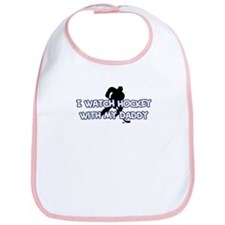 Los Angeles Hockey Daddy Bib
