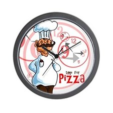 """Time for pizza"" Clock"