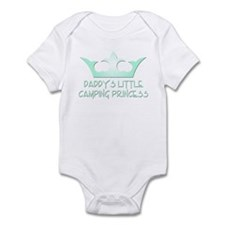 Daddy's Camping Princess Infant Bodysuit
