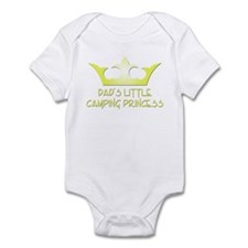 Dad's Camping Princess Infant Bodysuit