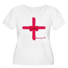 Unwrap Me Sexy Christmas Gift T-Shirt