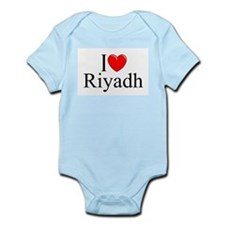 """I Love Riyadh"" Infant Bodysuit"