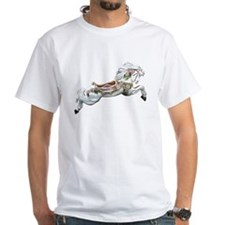 White Jumper Carousel Shirt