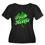 Irish Hottie Women's Plus Size Scoop Neck Dark T-S