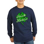 Irish Hottie Long Sleeve Dark T-Shirt