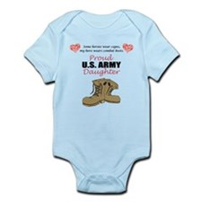 Proud US Army Daughter Infant Bodysuit