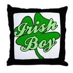 Irish Boy Throw Pillow