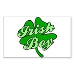 Irish Boy Rectangle Sticker