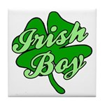 Irish Boy Tile Coaster