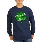 Irish Boy Long Sleeve Dark T-Shirt