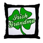 Irish Grandma Throw Pillow