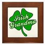 Irish Grandma Framed Tile