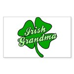 Irish Grandma Rectangle Sticker