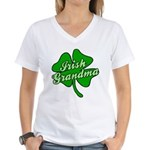 Irish Grandma Women's V-Neck T-Shirt
