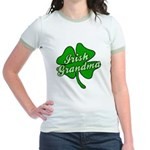 Irish Grandma Jr. Ringer T-Shirt