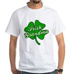 Irish Grandma White T-Shirt