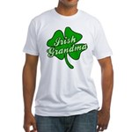 Irish Grandma Fitted T-Shirt