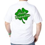 Irish Grandma Golf Shirt