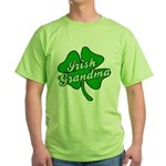 Irish Grandma Green T-Shirt