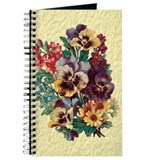 Vintage Floral Bouquet Journal