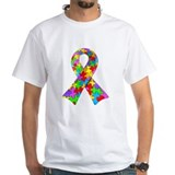 3D Puzzle Ribbon Shirt
