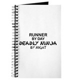 Runner Deadly Ninja Journal