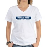 PORTUGUESE POINTER Womens V-Neck T-Shirt