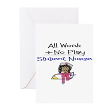 Funny Nursing students Greeting Cards (Pk of 20)