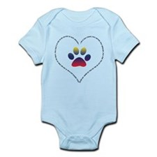 He is your friend... Primary Infant Bodysuit