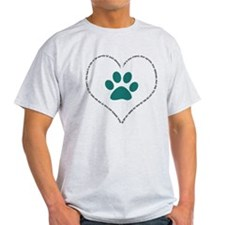 He is your friend..Teal T-Shirt