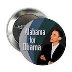 Ten Alabama for Obama Buttons (Bulk Rate)