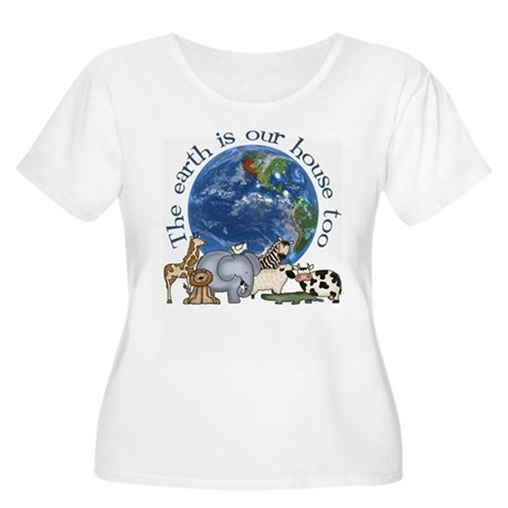 The Earth Is Our House Too Women's Plus Size Scoop