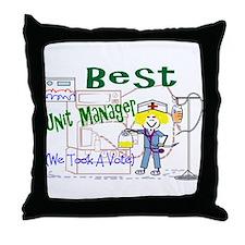 Funny Clinic nurse Throw Pillow