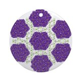 Spring Asters Keepsake (Round)