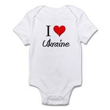 I Love Uganda Infant Bodysuit