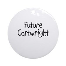 Future Cartwright Ornament (Round)